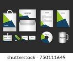 business printed advertising...   Shutterstock .eps vector #750111649