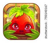 app icon with cute berry...