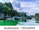hai phong  vietnam   sep 23 ... | Shutterstock . vector #750160909