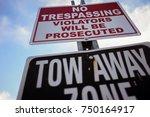 No Trespassing Violators Will...