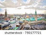 Hamburg City Hall And Downtown