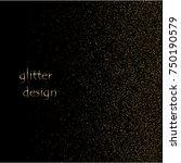 golden confetti sequins. vector ...   Shutterstock .eps vector #750190579