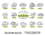 set vector icons hand drawn... | Shutterstock .eps vector #750228529