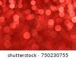 red bokeh background | Shutterstock . vector #750230755