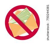 stop corruption sign   Shutterstock .eps vector #750244381