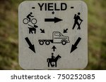 trail yielding directions  this