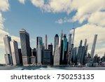 digitally manipulated lower...   Shutterstock . vector #750253135