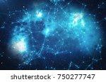 3d rendering technological...   Shutterstock . vector #750277747