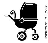 baby carriage tricycles icon.... | Shutterstock .eps vector #750299851