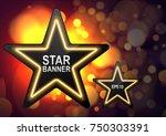 abstract vector illustration of ... | Shutterstock .eps vector #750303391
