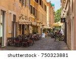 rome  italy   june 26  2013 ... | Shutterstock . vector #750323881