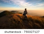 landscape of high mountains in...   Shutterstock . vector #750327127