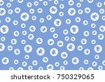 thumb up seamless background.... | Shutterstock .eps vector #750329065
