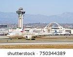 los angeles california   oct....   Shutterstock . vector #750344389