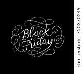 black friday sophisticated line ... | Shutterstock .eps vector #750370249