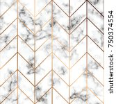 vector marble texture  seamless ... | Shutterstock .eps vector #750374554