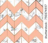 vector marble texture  seamless ... | Shutterstock .eps vector #750374557