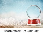 holiday christmas background... | Shutterstock . vector #750384289