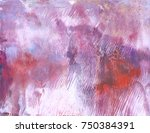 highly textured colorful... | Shutterstock . vector #750384391