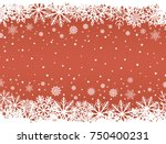 abstract red christmas... | Shutterstock .eps vector #750400231