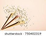 fashionable women's cosmetics... | Shutterstock . vector #750402319