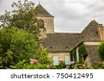 medieval houses in the village... | Shutterstock . vector #750412495