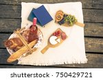 different types of food and... | Shutterstock . vector #750429721
