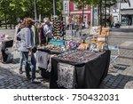 porto  portugal   april 16 ... | Shutterstock . vector #750432031