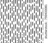 hand drawn striped seamless... | Shutterstock .eps vector #750433081