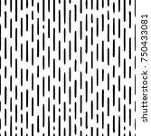 hand drawn striped seamless... | Shutterstock .eps vector #750433081