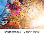 rotterdam  netherlands  august... | Shutterstock . vector #750444049