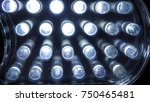 led lamp of a lamp seen in... | Shutterstock . vector #750465481