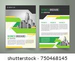vector flyer  cover design of... | Shutterstock .eps vector #750468145