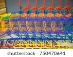 many shopping colorful shopping ... | Shutterstock . vector #750470641