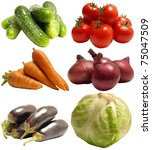 vegetable | Shutterstock . vector #75047509