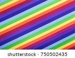 Rainbow Gay Flag. Stripes...