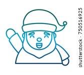 santa claus design | Shutterstock .eps vector #750516925