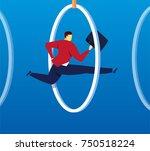 skilled skill concept | Shutterstock .eps vector #750518224