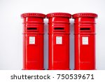London Postbox Isolated On...