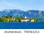gmunden schloss ort or schloss...   Shutterstock . vector #750561211