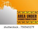 construction silhouettes vector ...   Shutterstock .eps vector #750565279