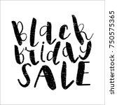 black friday sale banner | Shutterstock .eps vector #750575365