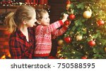 happy family mother and child...   Shutterstock . vector #750588595