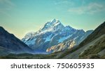 stunning mt cook view in new... | Shutterstock . vector #750605935