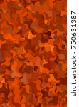 dark multicolor crooked... | Shutterstock . vector #750631387