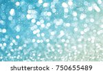 lighting bokeh background | Shutterstock . vector #750655489