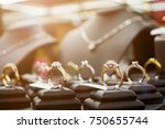 jewelry diamond rings and... | Shutterstock . vector #750655744