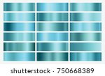 blue foil texture background... | Shutterstock .eps vector #750668389