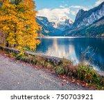 Small photo of Fantastic autumn scene of Vorderer