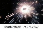 fire cracker flash   Shutterstock . vector #750719767